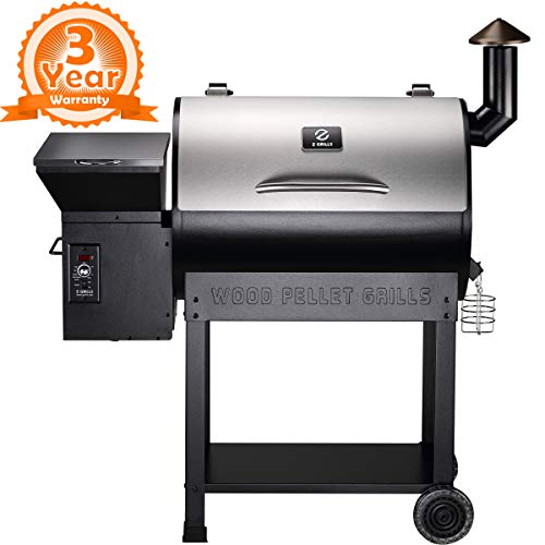 Compare the Traeger Lil Tex Elite 22 to a Z Grills ZPG – 7002ENC 2019 New Model Wood Pellet Grill