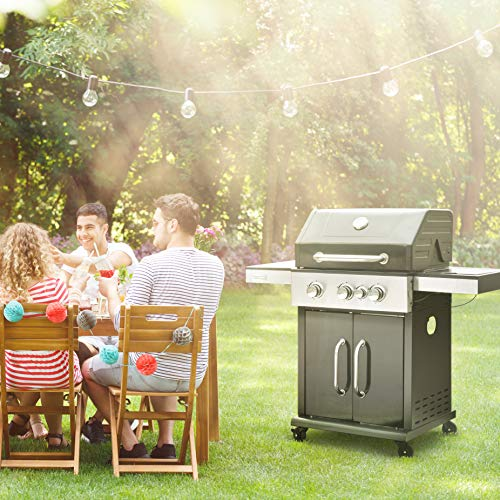 Best Gas Grills Under $500 - Royal Gourmet GG3201S Cabinet Liquid Propane Gas Grill with Side Burner