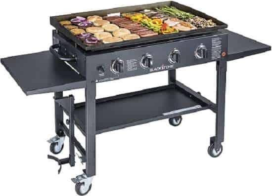 Compare Camp chef flat top grill 600 vs Blackstone 1554 Station
