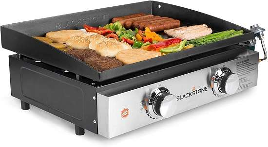 Blackstone 22 Inches Tabletop Grill Portable Gas Griddle