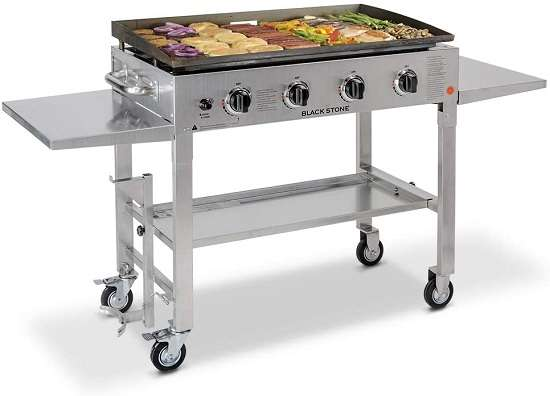Blackstone 36 Inches Stainless Steel Outdoor Gas Grill Griddle