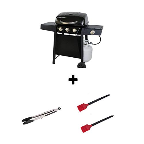 Best 3-Burner Gas Grill - Backyard Grill Durable Outdoor Barbeque & Burger Gas Grill