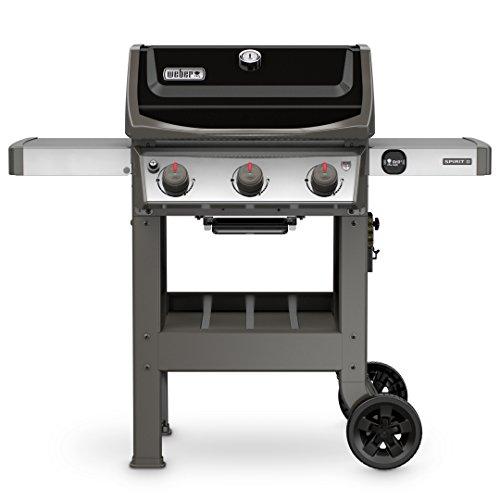 Best 3-Burner Gas Grill - Weber 45010001 Spirit II E-310 3-Burner Liquid Propane Grill