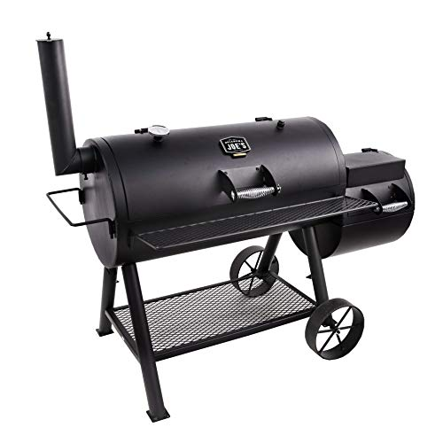 Compare an Oklahoma Joe's Highland Offset Smoker vs. an Oklahoma Joe's Longhorn Offset Smoker