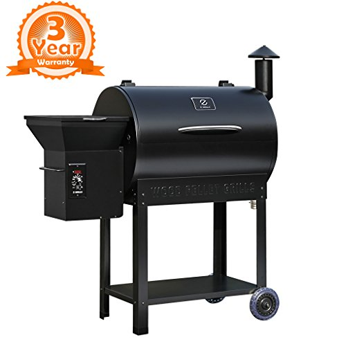 Compare a Char-Griller Competition Pro 8125 Charcoal Grill vs. a Z Grills ZPG-7002B 2019 New Model Wood Pellet Grill & Smoker