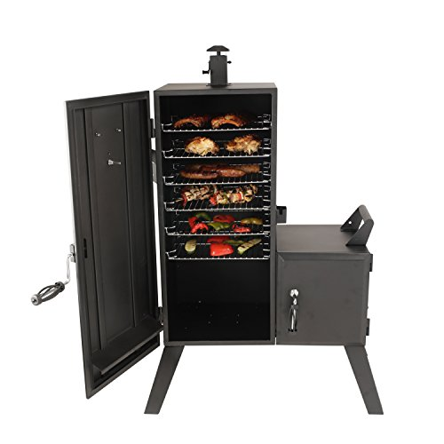 Dyna Glo Vs Weber Grills - Dyna-Glo DGO1176BDC-D Charcoal Offset Smoker