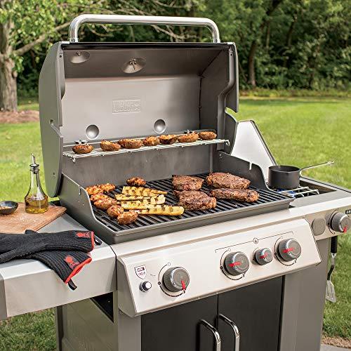Best 3-Burner Gas Grill - Weber 66016001 Genesis II E-335 3-Burner Natural Gas Grill