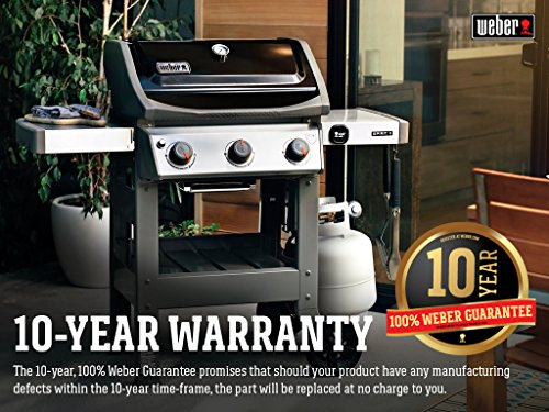 What is the disadvantage of a Weber Spirit 2 E310