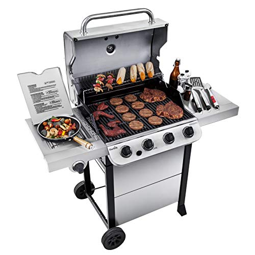 Compare a Weber Spirit 2 E310 vs. a Char-Broil 463377319 Performance Stainless Steel 4-Burner Cart Style Gas Grill