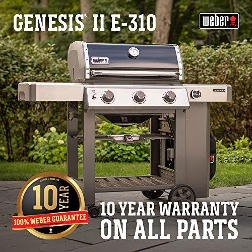 Best 3-Burner Gas Grill - Weber 61011001 Genesis II E-310 LP Gas Grill