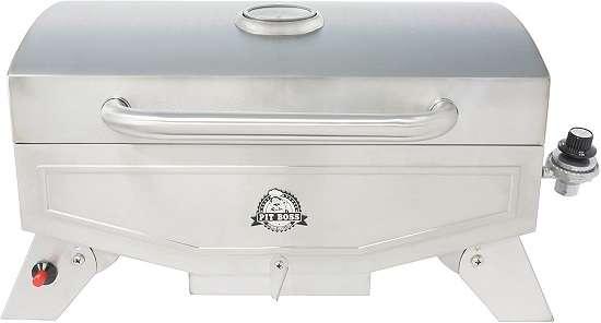 Pit Boss Grills PB100P1 Pit Stop Single-Burner Portable Tabletop
