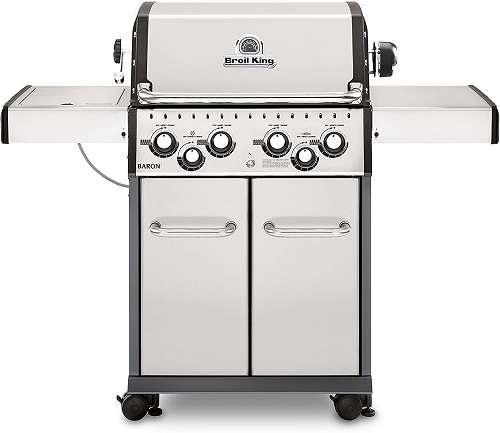 Broil King 922587 Baron S490 Gas Grill