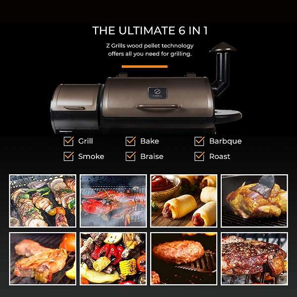 What is the Limitation of Z-Grills ZPG 450A