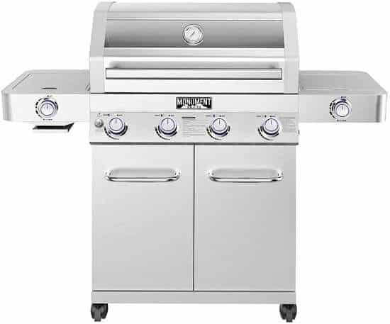 Monument Grills Clearview Lid 4 Burner Review