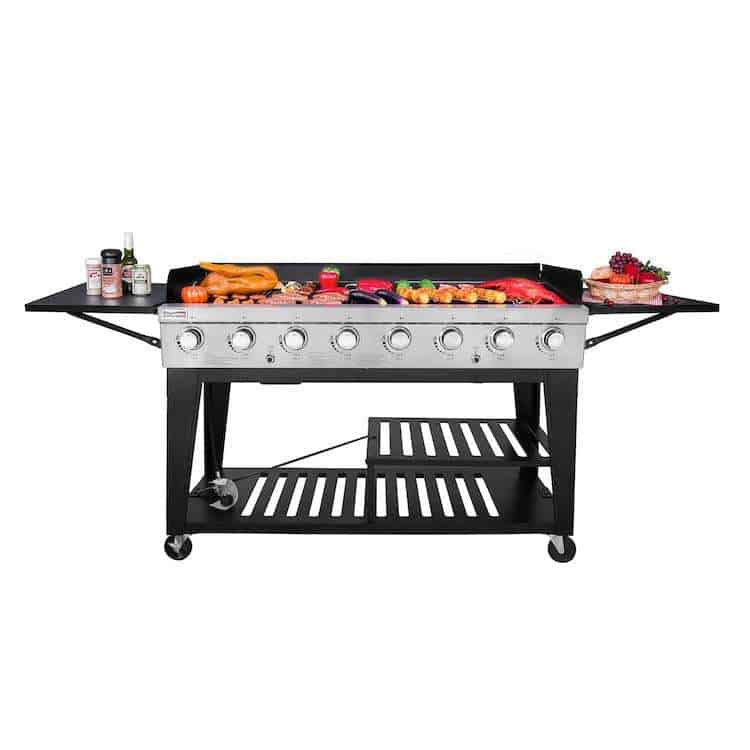 Royal Gourmet 8-Burner Propane Gas Grill Review