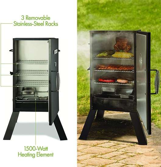 Key features of Cuisinart COS-330 Electric Smoker