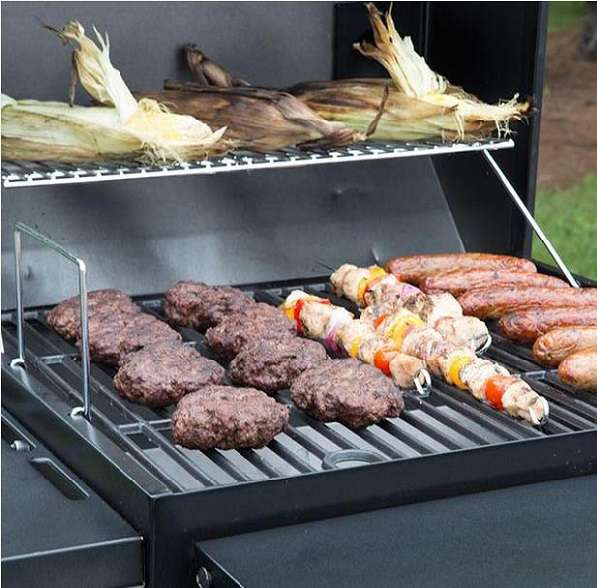 Nexgrill cart-style charcoal grill review