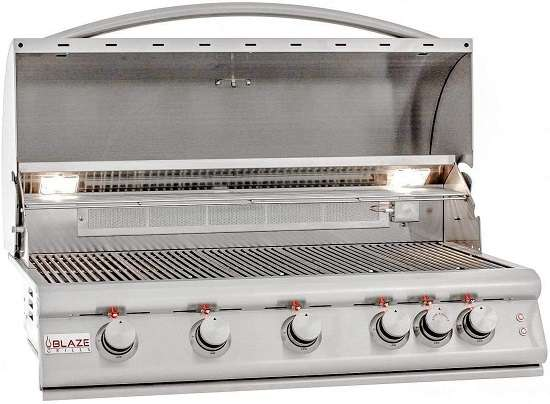 Blaze Built-In Grill With Lights 40-inch Natural Gas