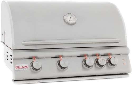 Blaze Grills Reviews - Blaze LTE 4-Burner Built-In Natural or Propane Gas Grill