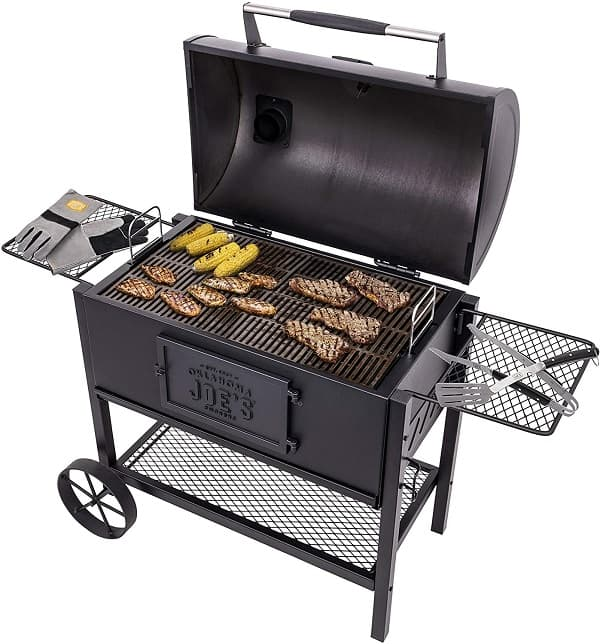 Oklahoma Joe's 19302087 Judge Charcoal Grill Review