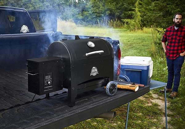 Pit Boss PB440TG Portable Pellet Grill Review