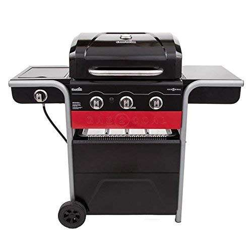 Char-Broil Gas2Coal 3-Burner Propane Gas and Charcoal Grill