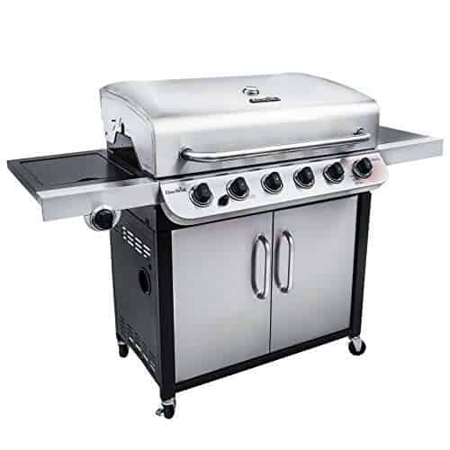 Char-Broil Performance 650 6-Burner Cabinet Propane Gas Grill