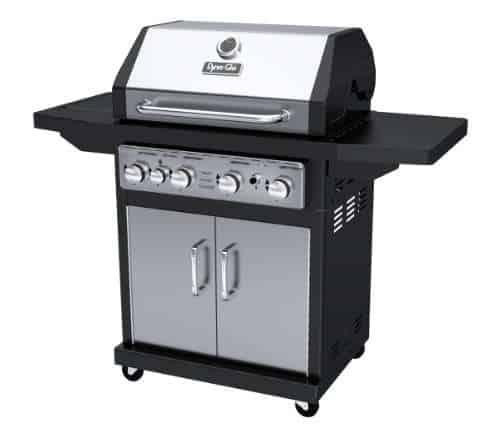Dyna-Glo Premium 4 Burner Cabin Liquid Propane Gas Grill