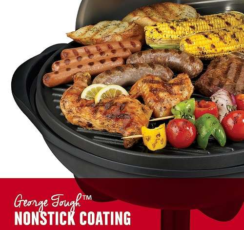 Key Features Of George Foreman GGR50B Indoor Grill