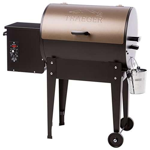 Traeger Grills TFB29LZA Junior Elite Wood Pellet Grill and Smoker