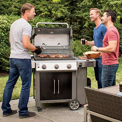 What are the key features of Weber Spirit E-310 and Genesis II E-315 Grill