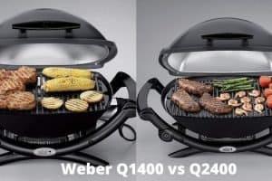Weber Q1400 vs Q2400