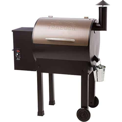 Traeger Lil Tex Elite 22 Pellet Grill and Smoker TFB42LZBC Grills