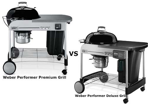 Weber Performer Premium Vs Deluxe - Why Users Choose Deluxe?