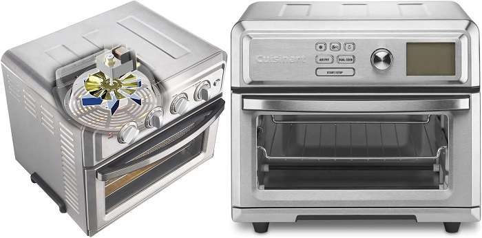 What are the differences between Cuisinart toa 60 vs toa 65
