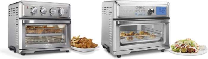 What are the similarities between Cuisinart toa 60 vs toa 65?