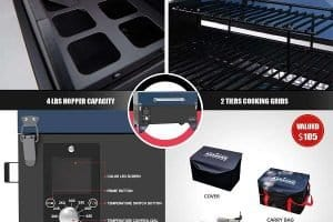 Key Features Of ASMOKE AS300 Tabletop Grill