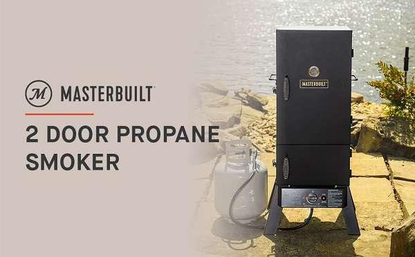 Key Features Of Masterbuilt MPS 230S 2 door Propane Smoker