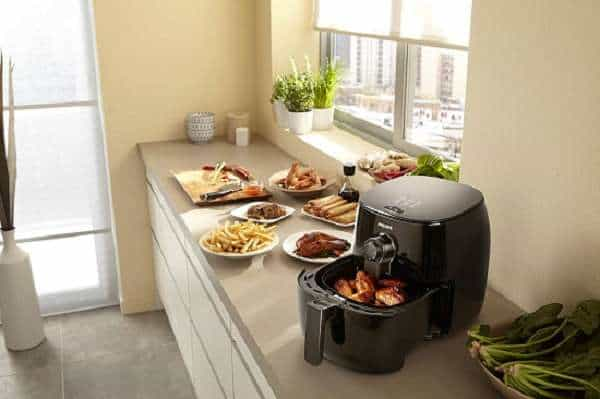 What is the Key Features Of Philips Viva Turbostar Airfryer