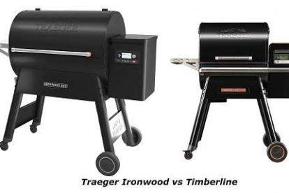 Traeger Ironwood vs Timberline