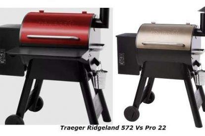 Traeger Ridgeland 572 Vs Pro 22