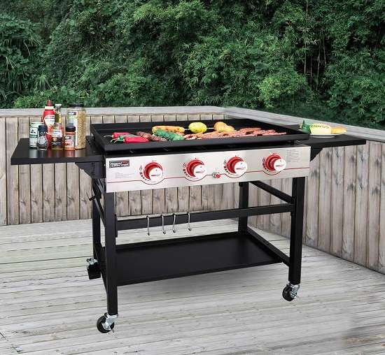 What Users Are Saying About Royal Gourmet GB4000 Propane Gas Griddle