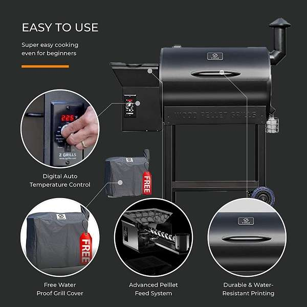 What Users Are Saying About Z Grills ZPG-7002B Wood Pellet Grill & Smoker