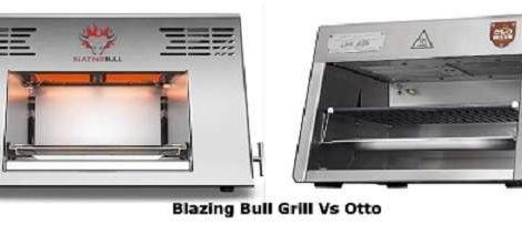 Blazing Bull Grill Vs Otto