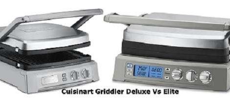 Cuisinart Griddler Deluxe Vs Elite