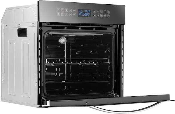 """Empava (24WOC17) 24"""" 10 Functions Built-in Convection Wall Oven"""