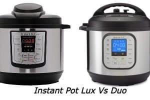 Instant Pot Lux Vs Duo