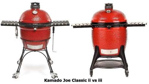Kamado Joe Classic ii vs iii