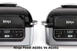 Ninja Foodi AG301 Vs AG302