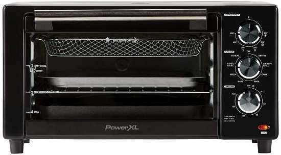 PowerXL B-AFO-002G-1 Air Fryer with Rotisserie